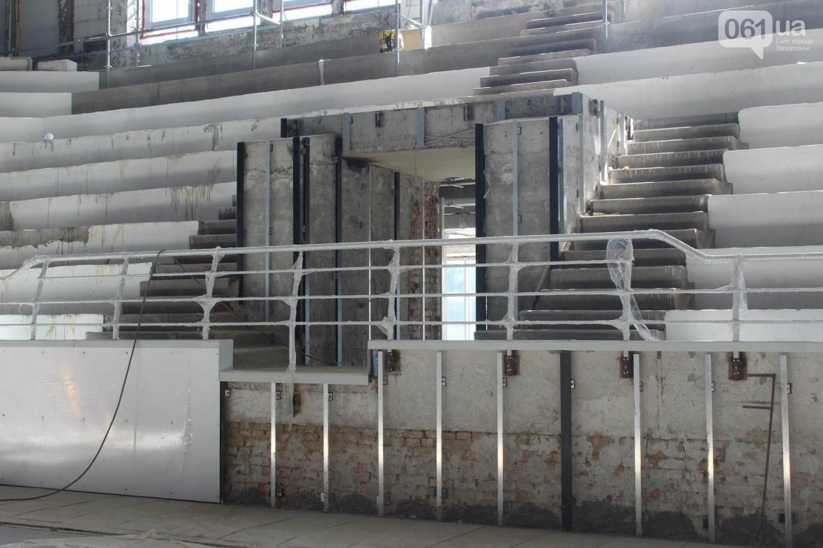 В Запорожье реконструируют дворец спорта «Юность: что уже сделано, — ФОТОРЕПОРТАЖ, фото-27