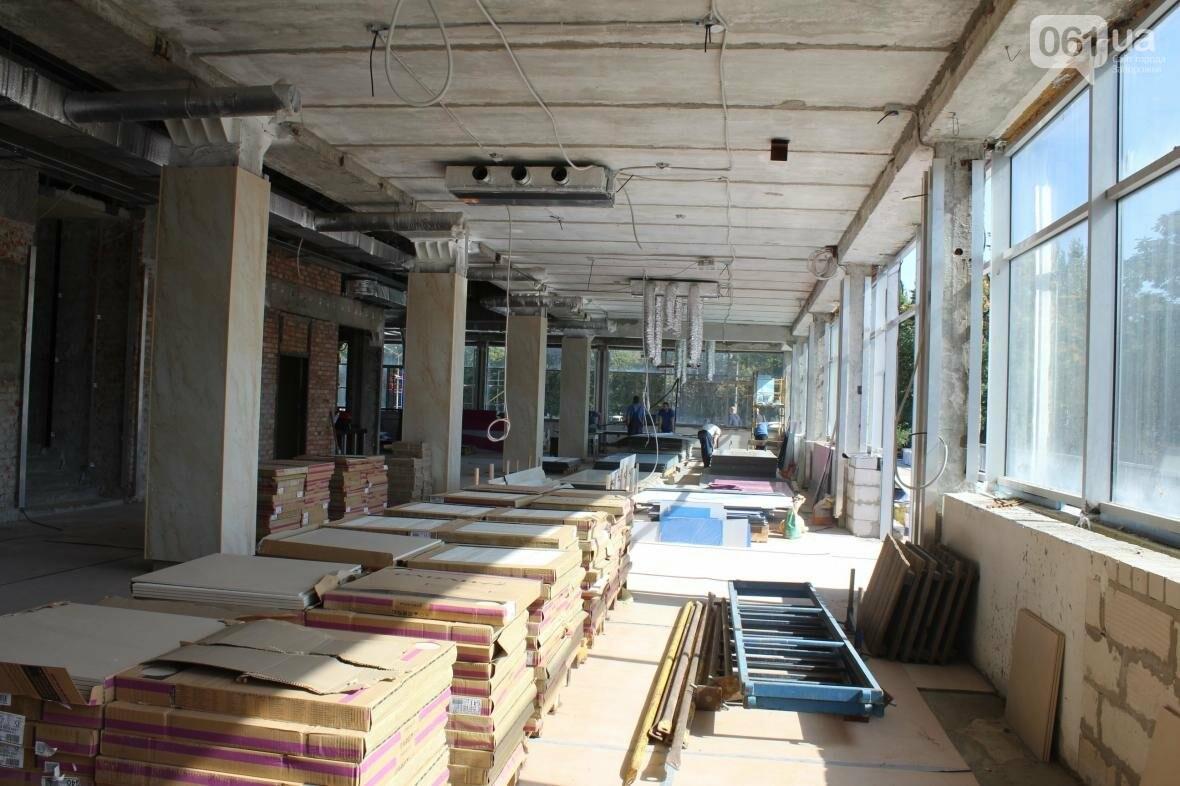 В Запорожье реконструируют дворец спорта «Юность: что уже сделано, — ФОТОРЕПОРТАЖ, фото-34