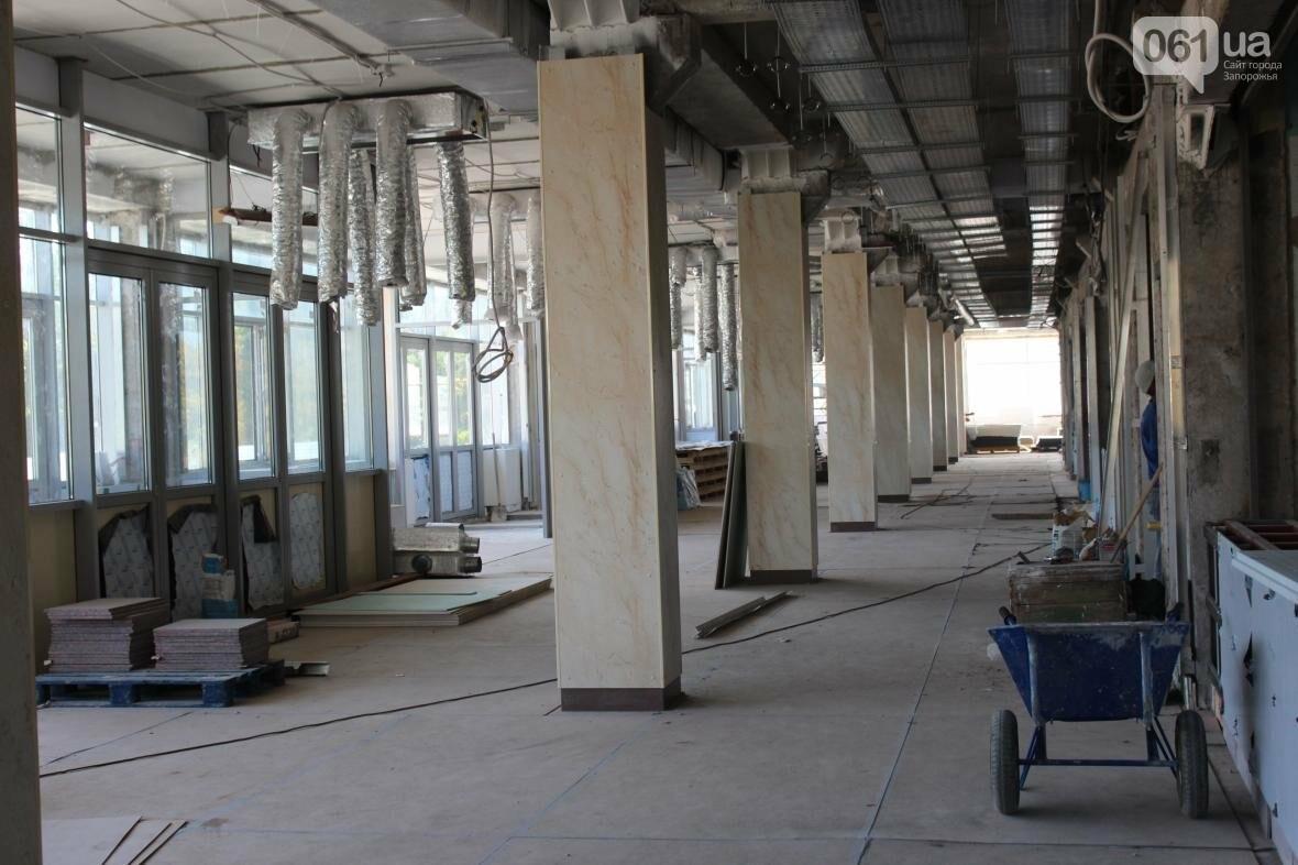 В Запорожье реконструируют дворец спорта «Юность: что уже сделано, — ФОТОРЕПОРТАЖ, фото-19