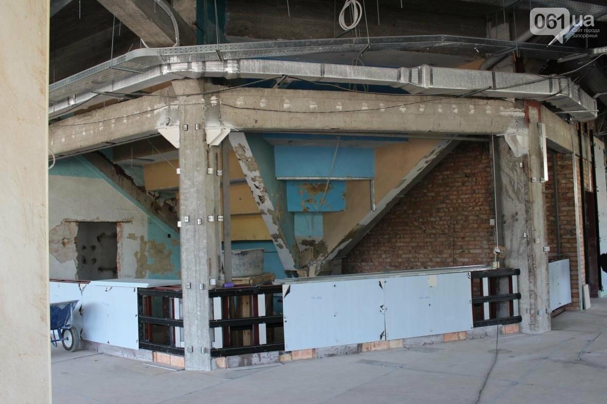 В Запорожье реконструируют дворец спорта «Юность: что уже сделано, — ФОТОРЕПОРТАЖ, фото-21
