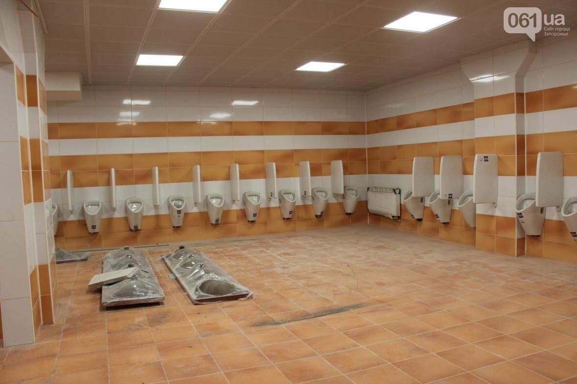 В Запорожье реконструируют дворец спорта «Юность: что уже сделано, — ФОТОРЕПОРТАЖ, фото-36