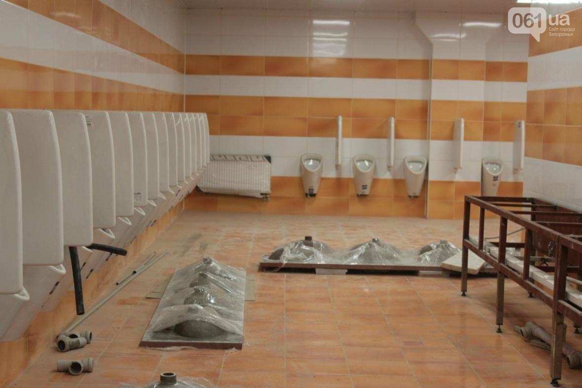В Запорожье реконструируют дворец спорта «Юность: что уже сделано, — ФОТОРЕПОРТАЖ, фото-39