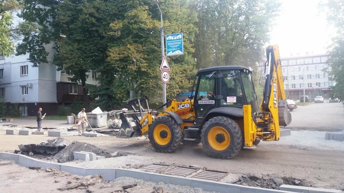 Новые парковки, бордюры, асфальт: в Запорожье реконструируют улицу Южноукраинскую, – ФОТОРЕПОРТАЖ, фото-4