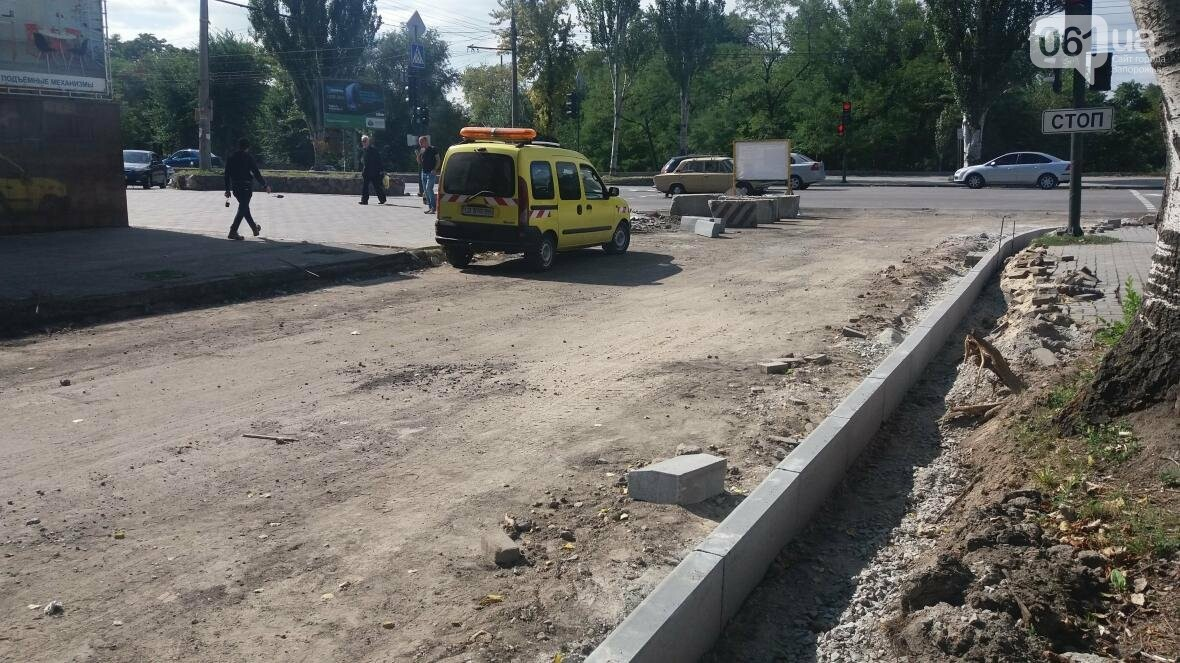 Новые парковки, бордюры, асфальт: в Запорожье реконструируют улицу Южноукраинскую, – ФОТОРЕПОРТАЖ, фото-18