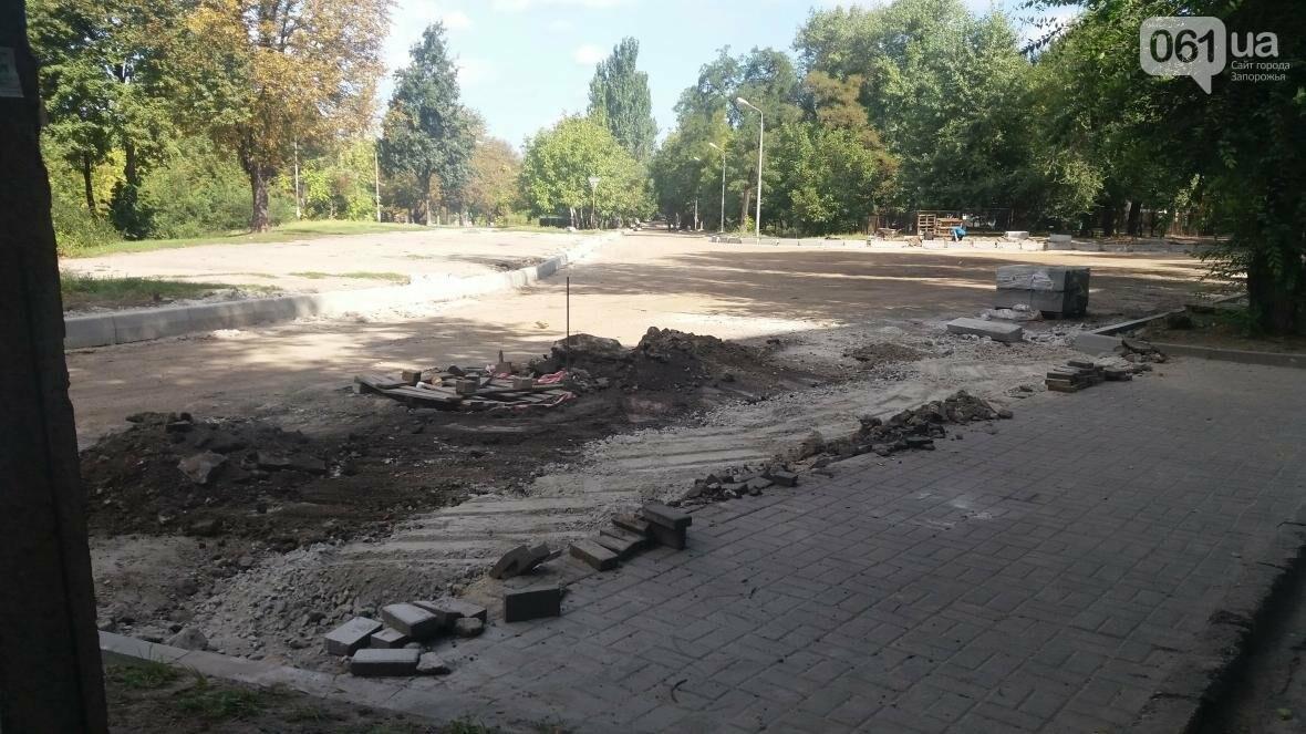 Новые парковки, бордюры, асфальт: в Запорожье реконструируют улицу Южноукраинскую, – ФОТОРЕПОРТАЖ, фото-8