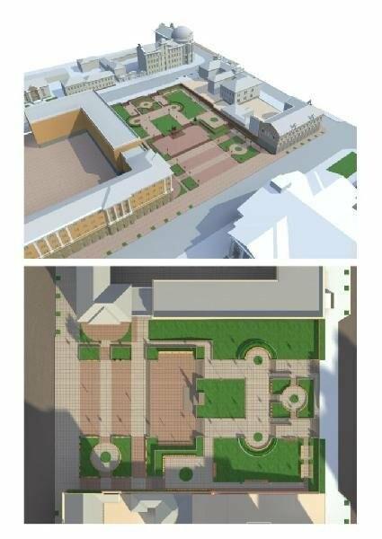 В Запорожье реконструируют парк напротив театра Магара: что сделают за 10 млн гривен, - ФОТО, фото-1
