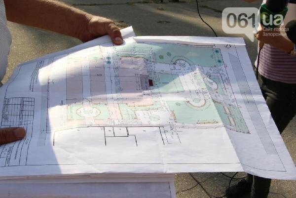 В Запорожье реконструируют парк напротив театра Магара: что сделают за 10 млн гривен, - ФОТО, фото-12