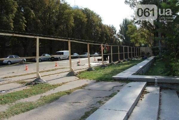 В Запорожье реконструируют парк напротив театра Магара: что сделают за 10 млн гривен, - ФОТО, фото-10