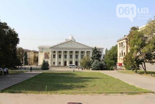 В Запорожье реконструируют парк напротив театра Магара: что сделают за 10 млн гривен, - ФОТО, фото-9
