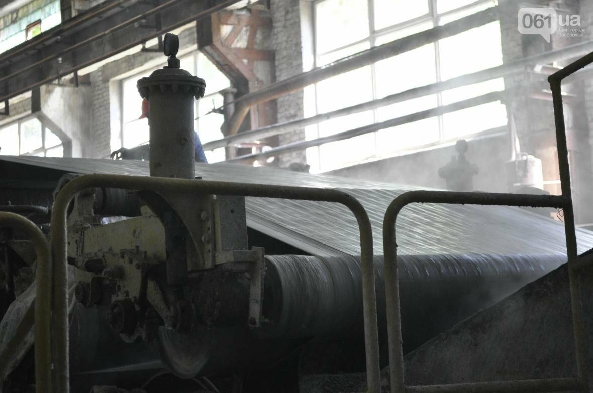 Как на запорожском заводе делают шифер: экскурсия на производство, — ФОТОРЕПОРТАЖ, фото-8