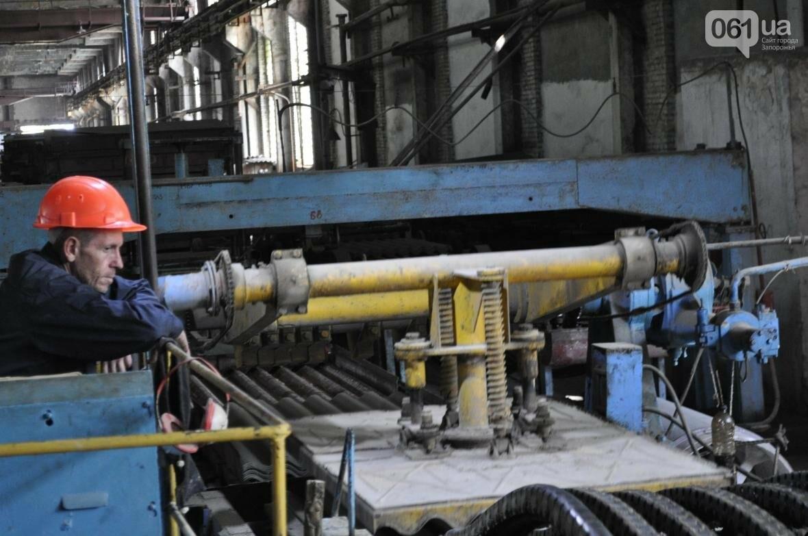 Как на запорожском заводе делают шифер: экскурсия на производство, — ФОТОРЕПОРТАЖ, фото-17