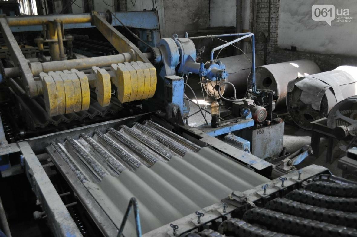 Как на запорожском заводе делают шифер: экскурсия на производство, — ФОТОРЕПОРТАЖ, фото-14