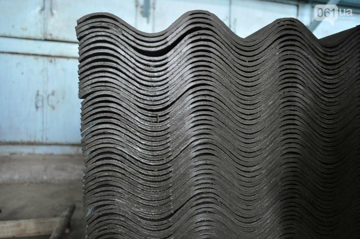 Как на запорожском заводе делают шифер: экскурсия на производство, — ФОТОРЕПОРТАЖ, фото-22