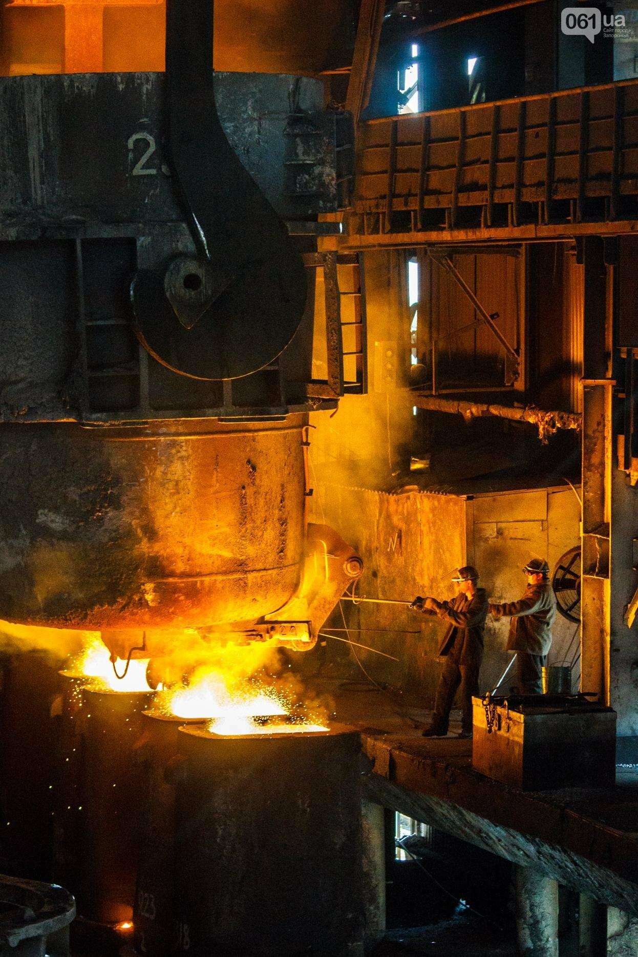 Как на «Запорожстали» железную руду превращают в сталь: экскурсия на производство, — ФОТОРЕПОРТАЖ, фото-23