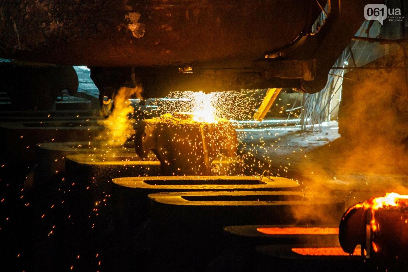 Как на «Запорожстали» железную руду превращают в сталь: экскурсия на производство, — ФОТОРЕПОРТАЖ, фото-22