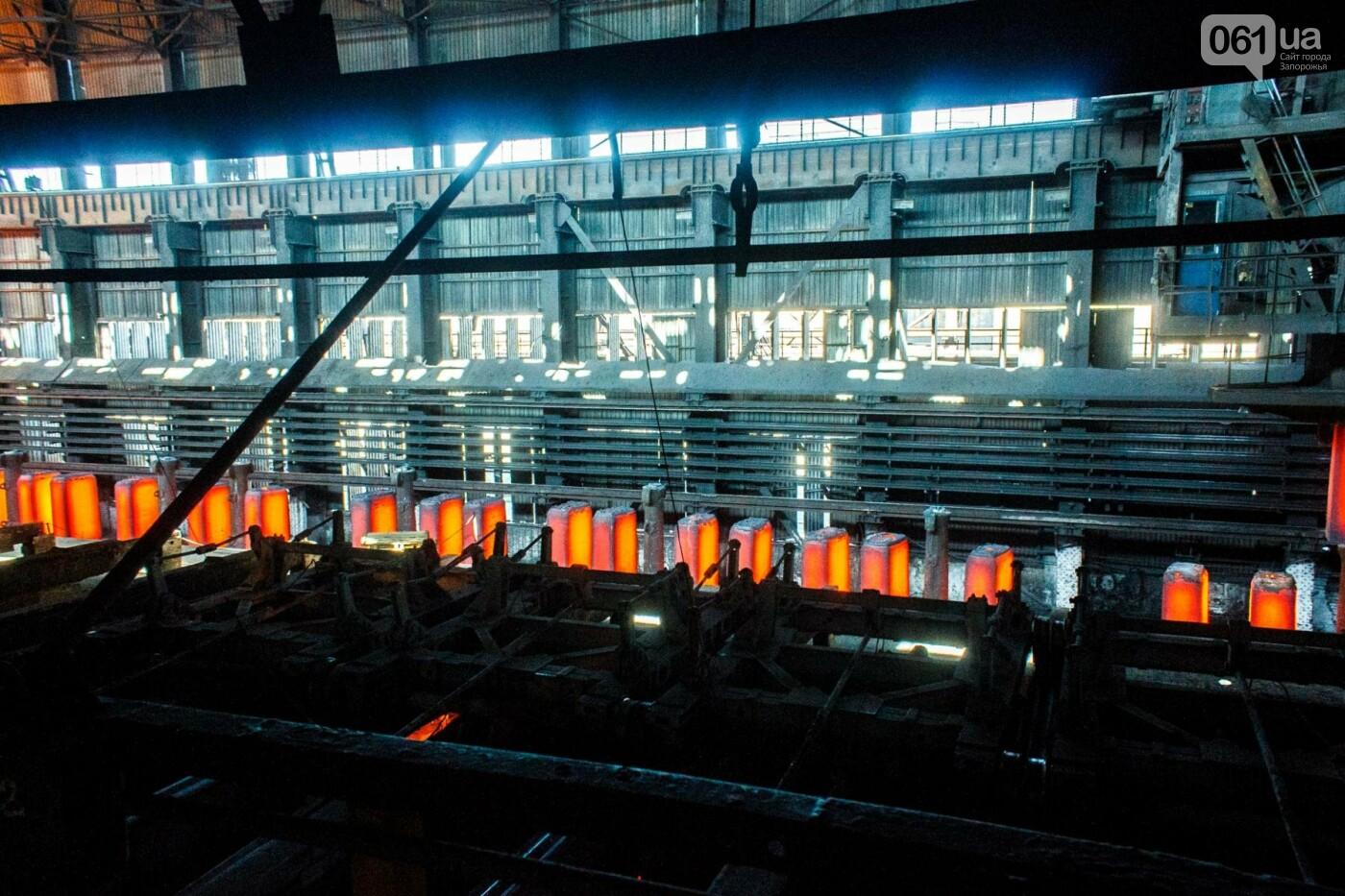 Как на «Запорожстали» железную руду превращают в сталь: экскурсия на производство, — ФОТОРЕПОРТАЖ, фото-26