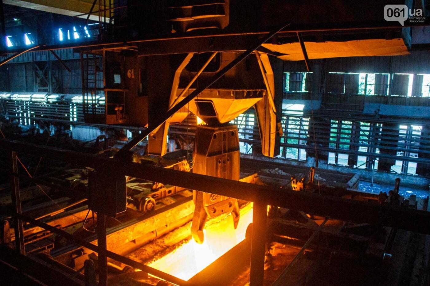 Как на «Запорожстали» железную руду превращают в сталь: экскурсия на производство, — ФОТОРЕПОРТАЖ, фото-28