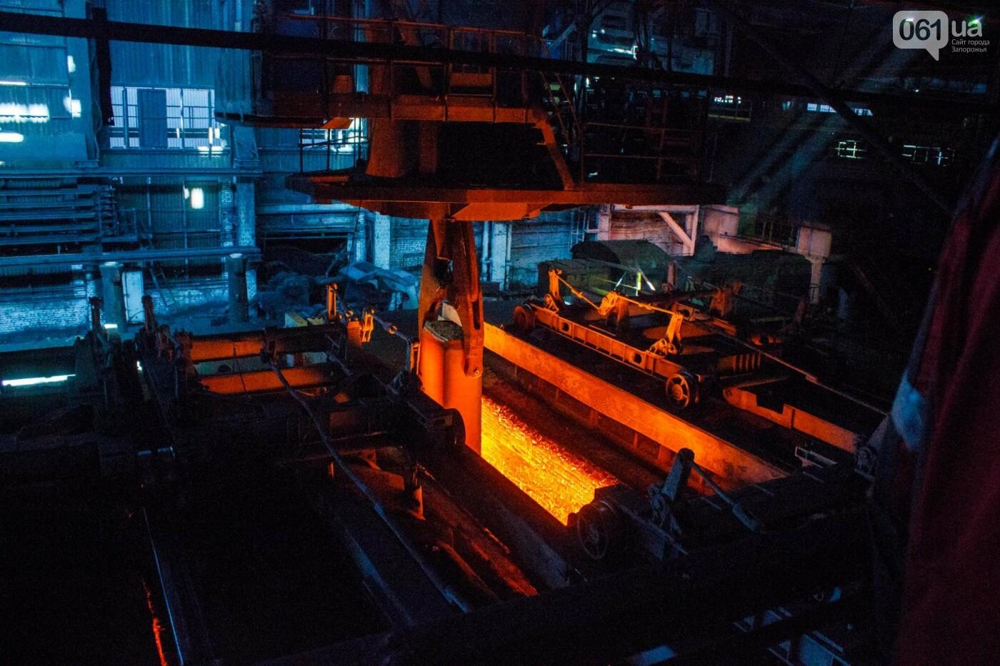 Как на «Запорожстали» железную руду превращают в сталь: экскурсия на производство, — ФОТОРЕПОРТАЖ, фото-29