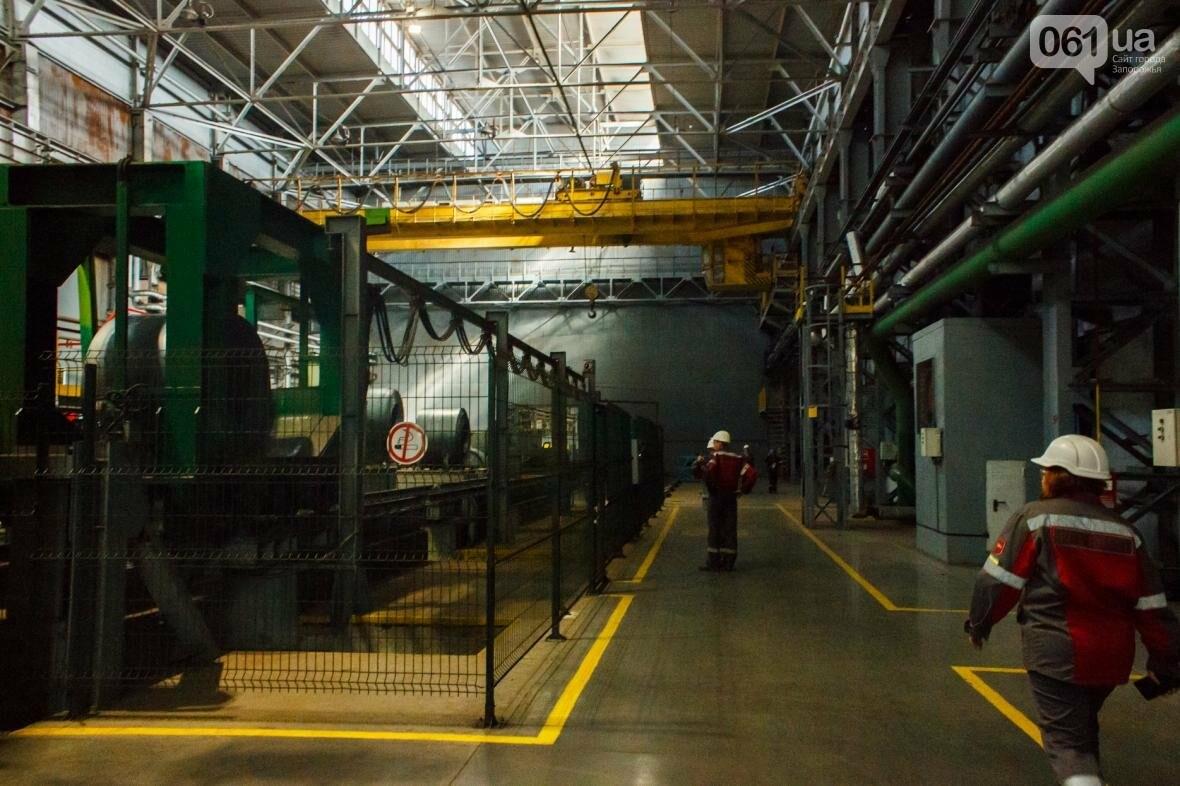 Как на «Запорожстали» железную руду превращают в сталь: экскурсия на производство, — ФОТОРЕПОРТАЖ, фото-41