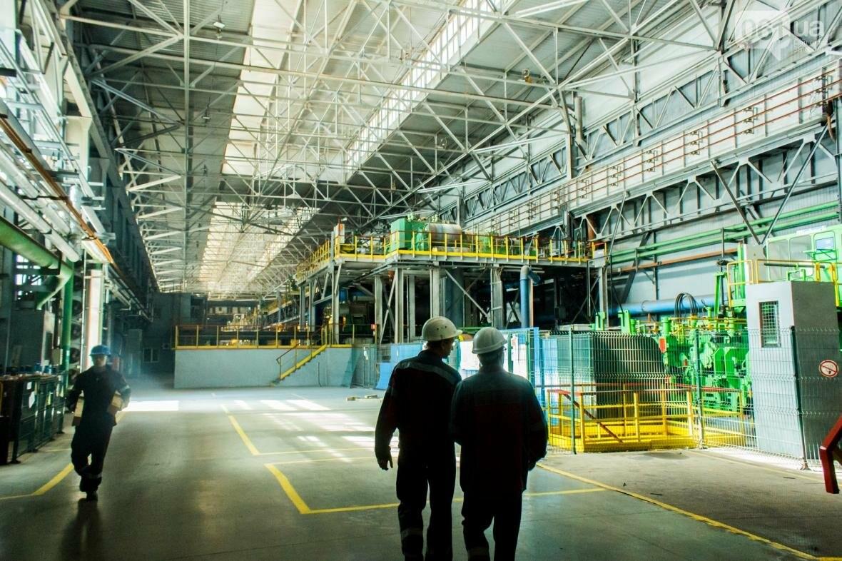 Как на «Запорожстали» железную руду превращают в сталь: экскурсия на производство, — ФОТОРЕПОРТАЖ, фото-38