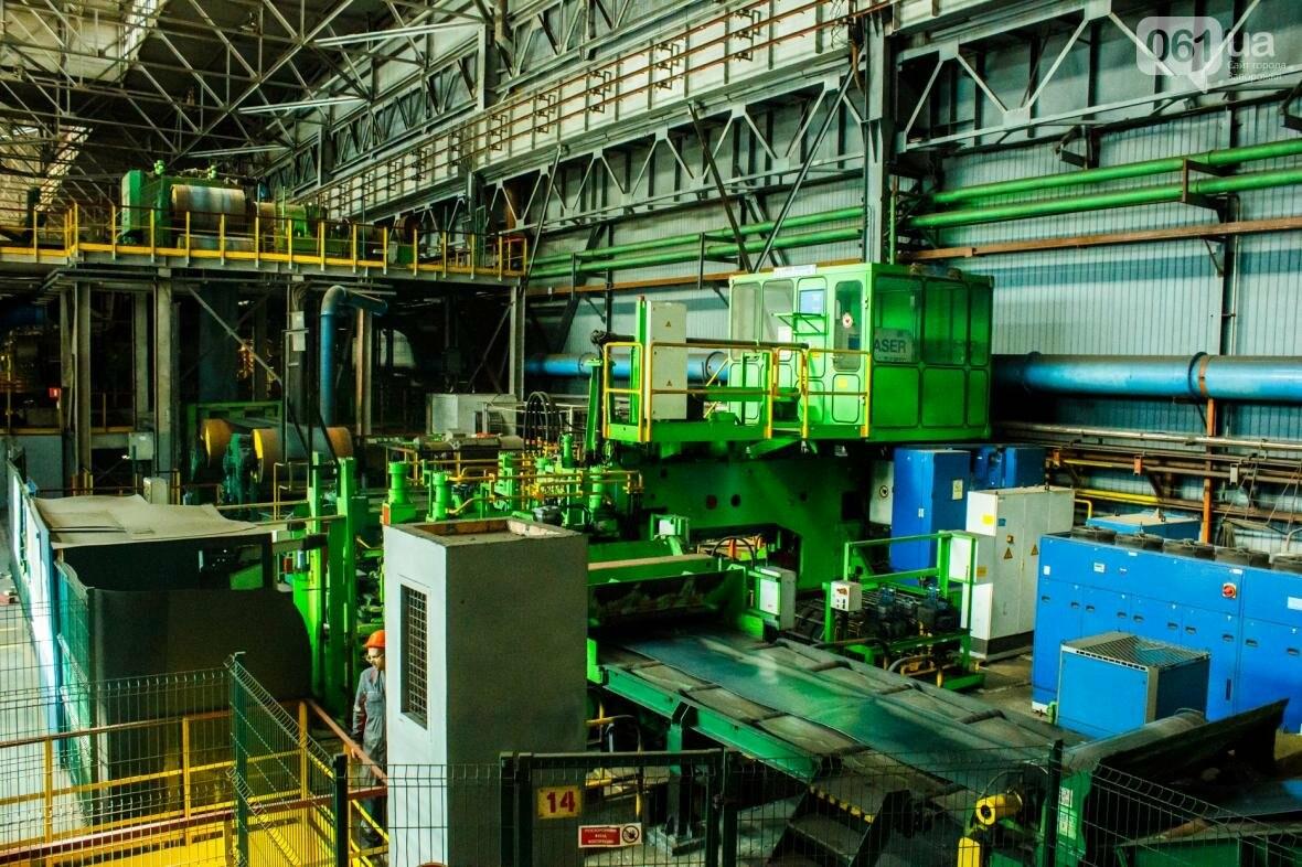 Как на «Запорожстали» железную руду превращают в сталь: экскурсия на производство, — ФОТОРЕПОРТАЖ, фото-39