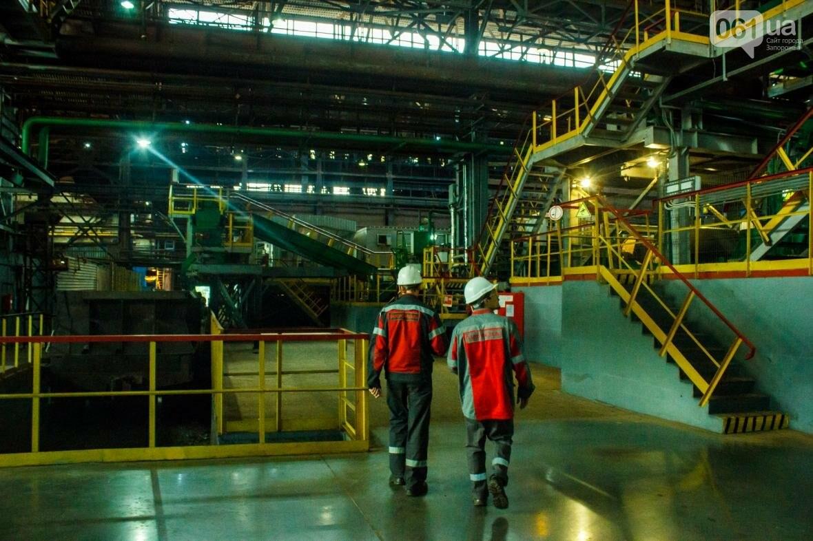 Как на «Запорожстали» железную руду превращают в сталь: экскурсия на производство, — ФОТОРЕПОРТАЖ, фото-43