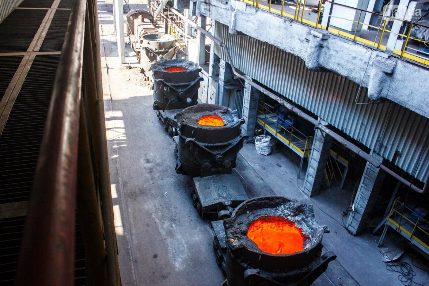 Как на «Запорожстали» железную руду превращают в сталь: экскурсия на производство, — ФОТОРЕПОРТАЖ, фото-13