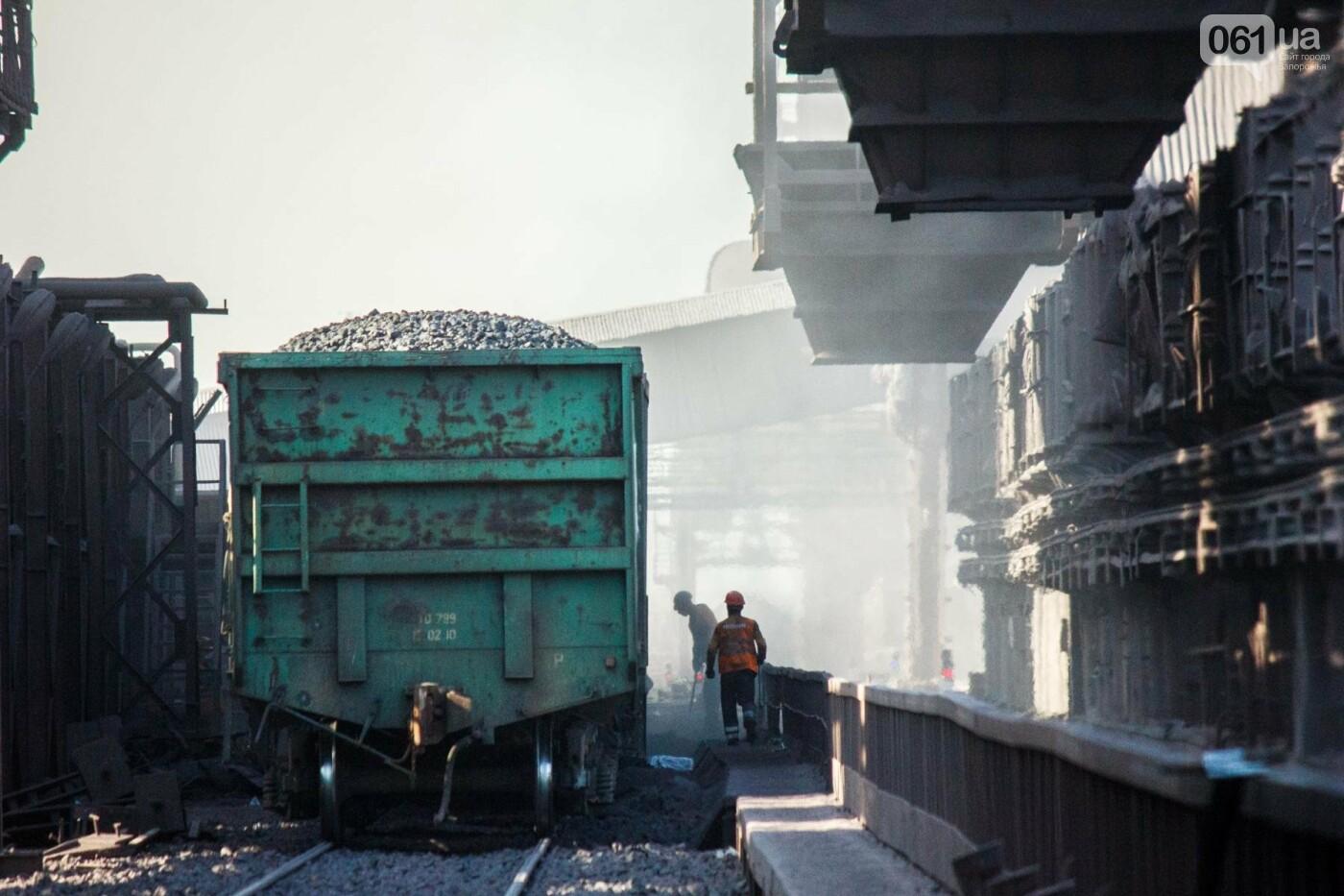 Как на «Запорожстали» железную руду превращают в сталь: экскурсия на производство, — ФОТОРЕПОРТАЖ, фото-3