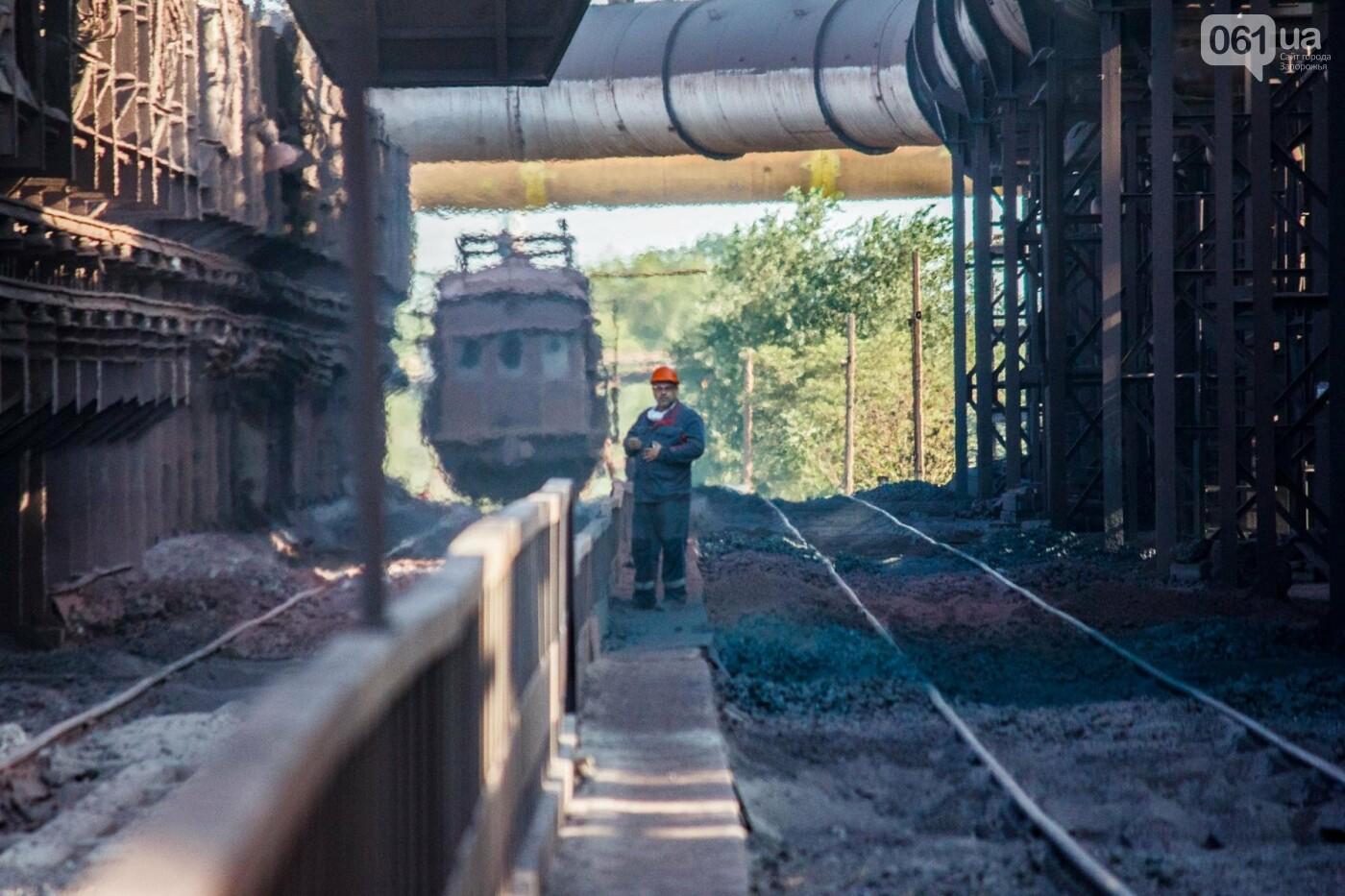Как на «Запорожстали» железную руду превращают в сталь: экскурсия на производство, — ФОТОРЕПОРТАЖ, фото-5