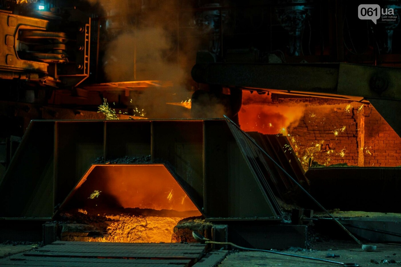 Как на «Запорожстали» железную руду превращают в сталь: экскурсия на производство, — ФОТОРЕПОРТАЖ, фото-11