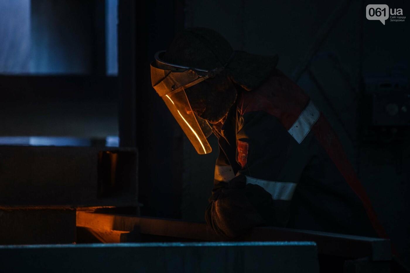Как на «Запорожстали» железную руду превращают в сталь: экскурсия на производство, — ФОТОРЕПОРТАЖ, фото-10