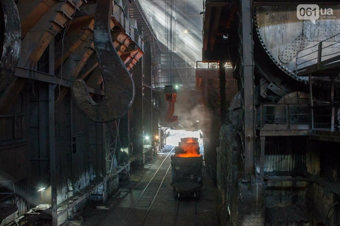 Как на «Запорожстали» железную руду превращают в сталь: экскурсия на производство, — ФОТОРЕПОРТАЖ, фото-17