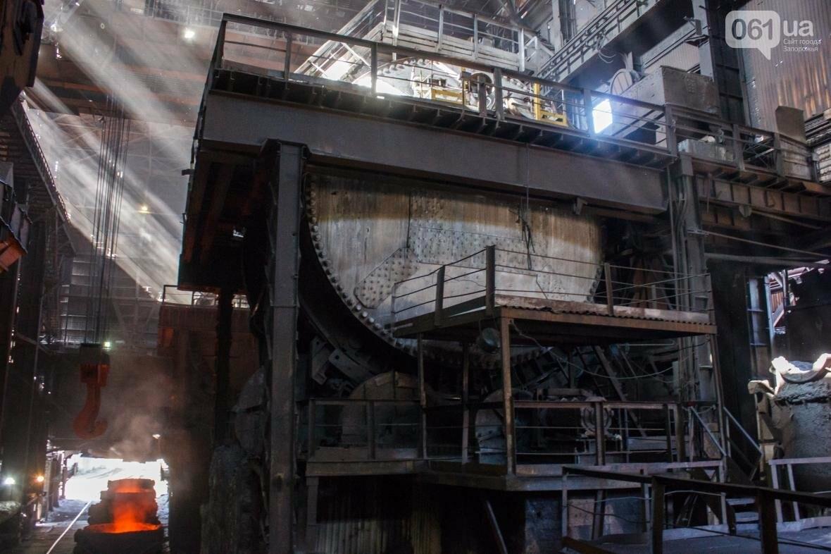 Как на «Запорожстали» железную руду превращают в сталь: экскурсия на производство, — ФОТОРЕПОРТАЖ, фото-16