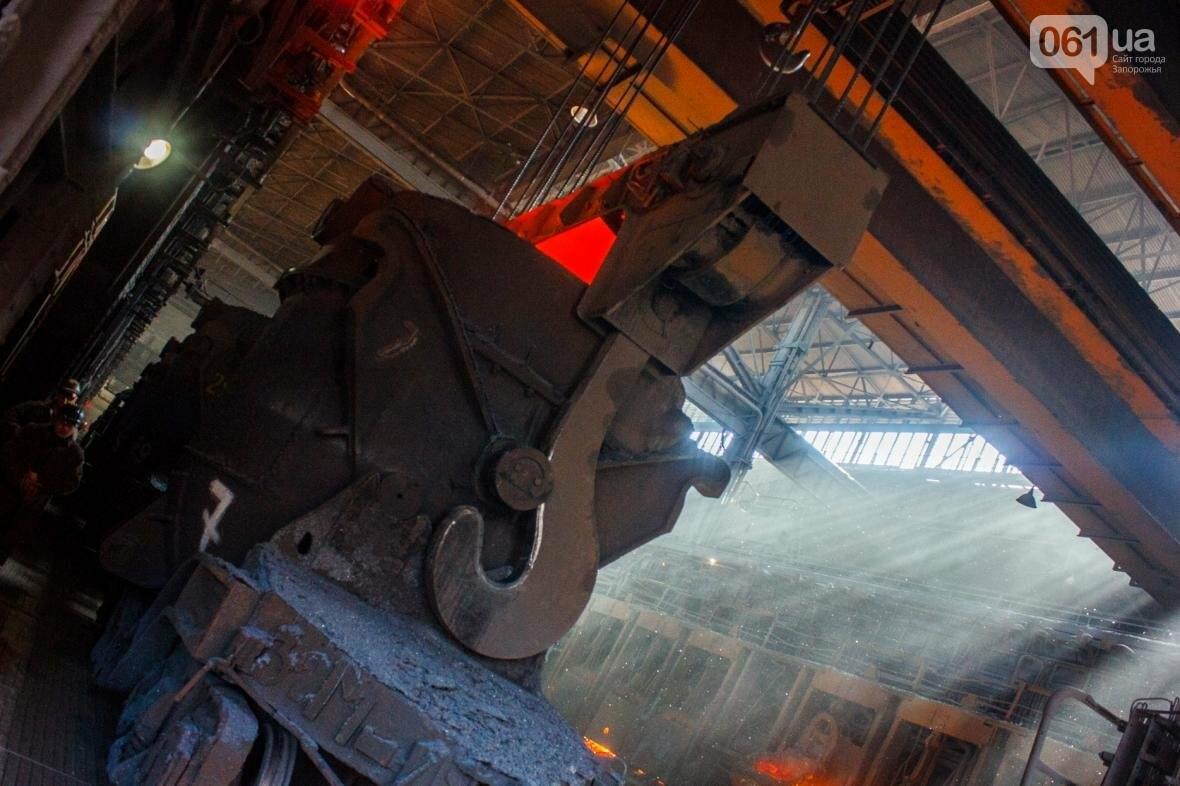 Как на «Запорожстали» железную руду превращают в сталь: экскурсия на производство, — ФОТОРЕПОРТАЖ, фото-21
