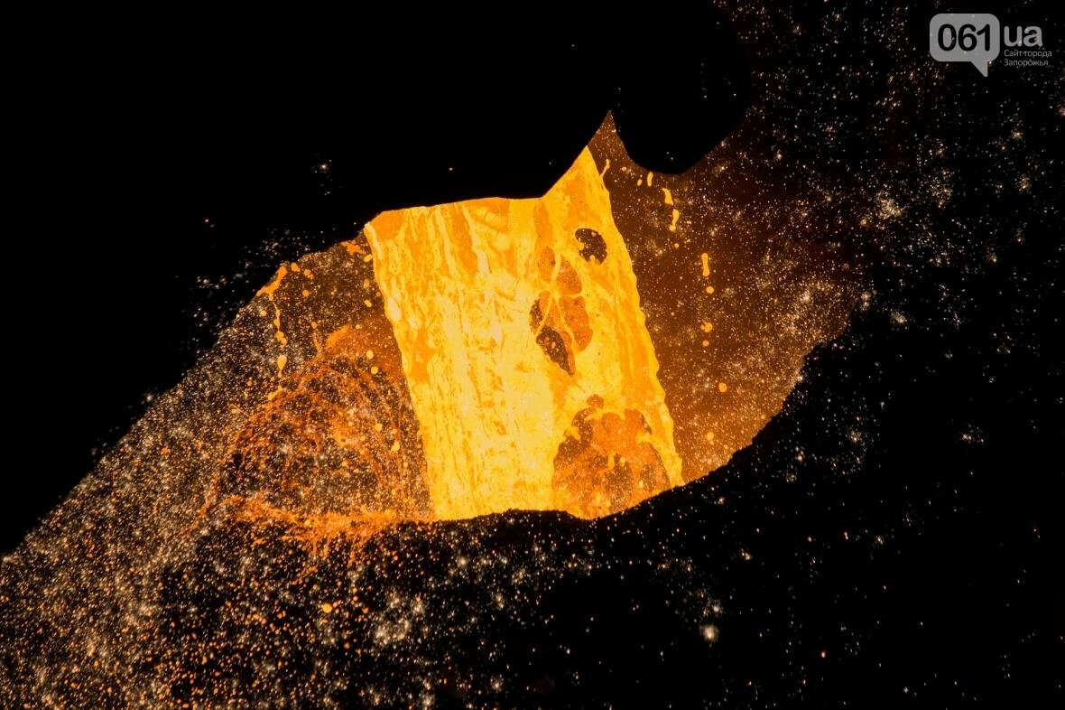 Как на «Запорожстали» железную руду превращают в сталь: экскурсия на производство, — ФОТОРЕПОРТАЖ, фото-19