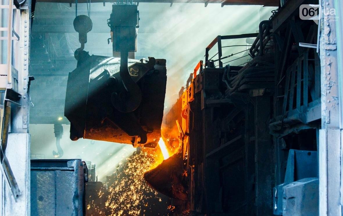 Как на «Запорожстали» железную руду превращают в сталь: экскурсия на производство, — ФОТОРЕПОРТАЖ, фото-18