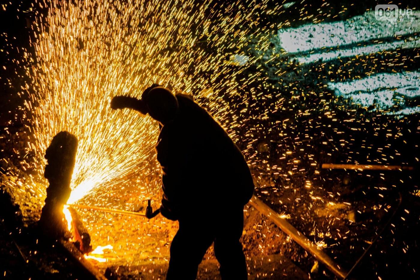 Как на «Запорожстали» железную руду превращают в сталь: экскурсия на производство, — ФОТОРЕПОРТАЖ, фото-25