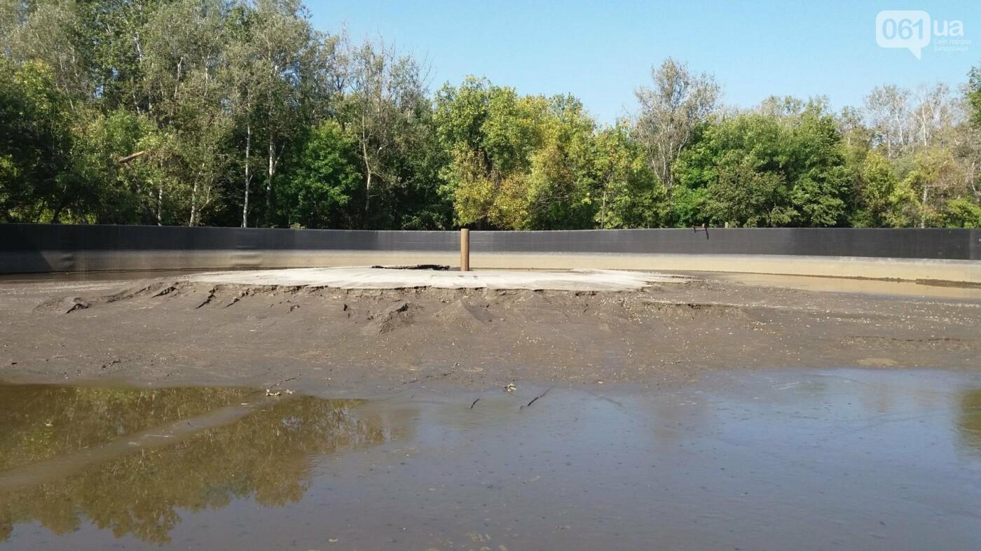 Тонны ила и кубометры воды: как в запорожской «Дубовке» чистят большой пруд, – ФОТОРЕПОРТАЖ, фото-7