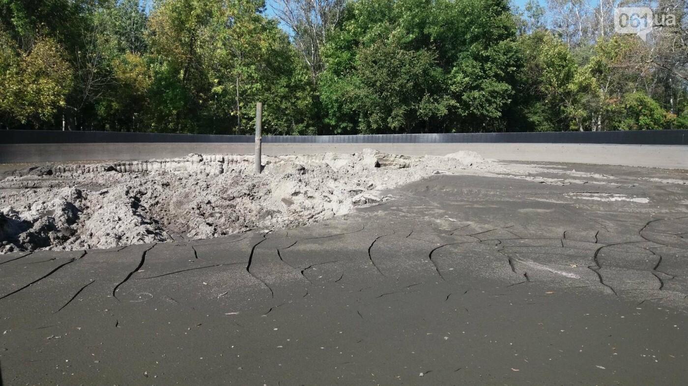 Тонны ила и кубометры воды: как в запорожской «Дубовке» чистят большой пруд, – ФОТОРЕПОРТАЖ, фото-4
