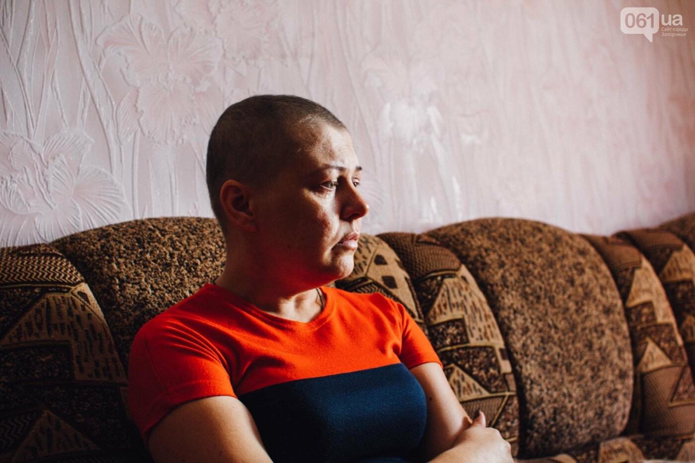 Последний шаг для Оли: как запорожанка проходила химиотерапию между сменами на заводе, фото-1