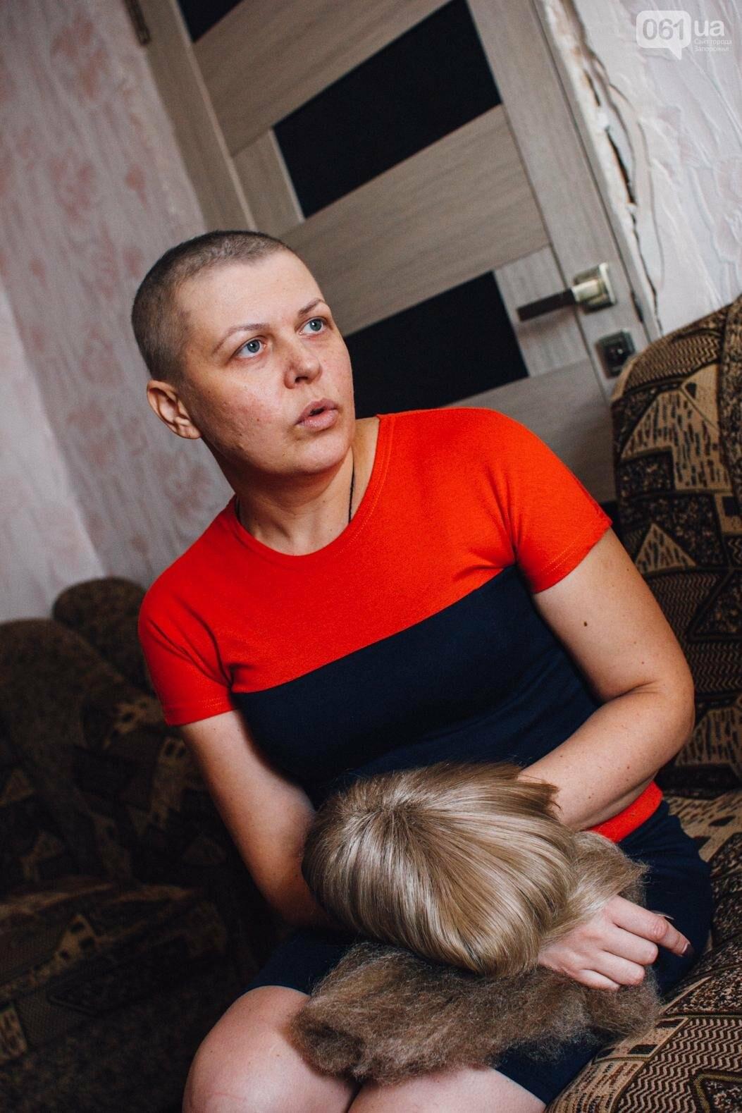 Последний шаг для Оли: как запорожанка проходила химиотерапию между сменами на заводе, фото-3