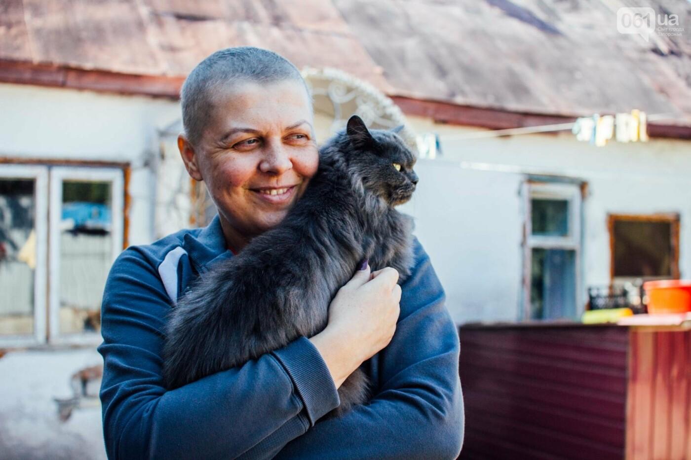 Последний шаг для Оли: как запорожанка проходила химиотерапию между сменами на заводе, фото-9