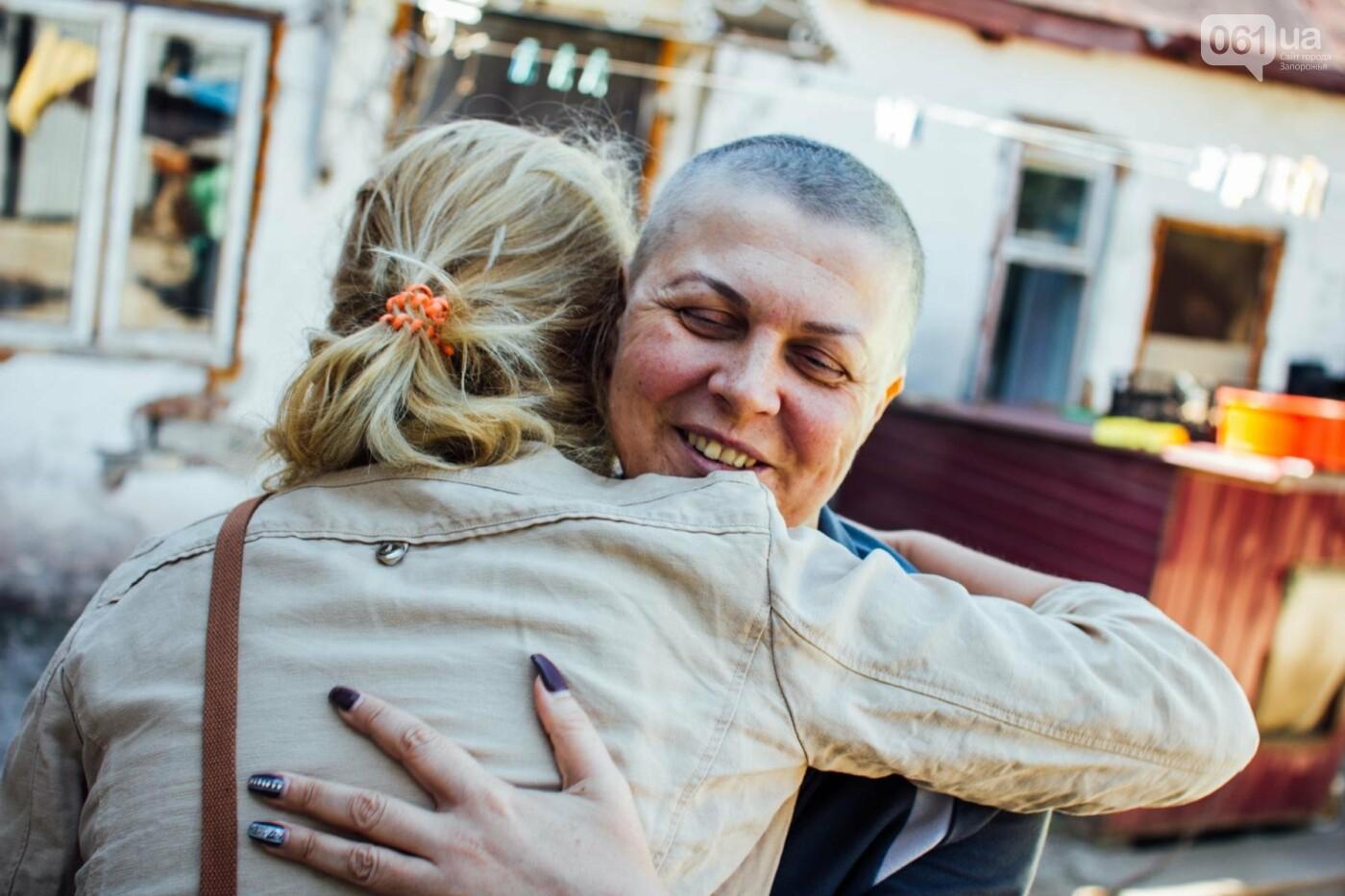 Последний шаг для Оли: как запорожанка проходила химиотерапию между сменами на заводе, фото-8