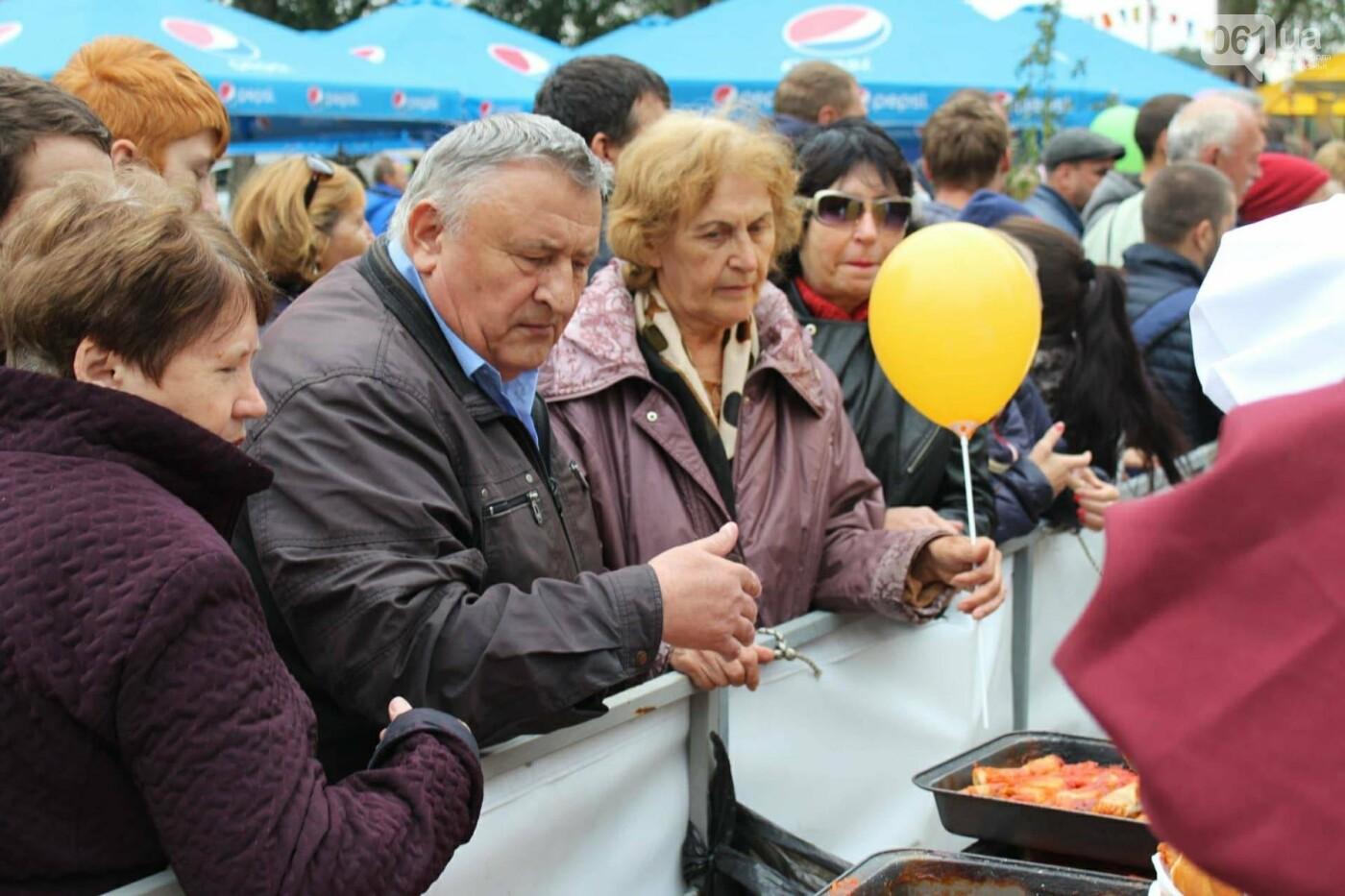 В Запорожье на ярмарке под баян начали раздавать голубцы: пока без драк, - ФОТОРЕПОРТАЖ, фото-17