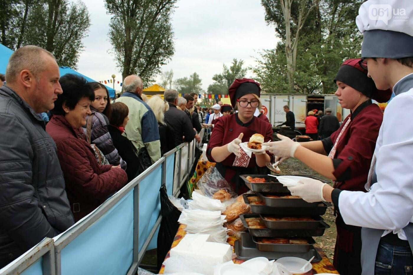 В Запорожье на ярмарке под баян начали раздавать голубцы: пока без драк, - ФОТОРЕПОРТАЖ, фото-2
