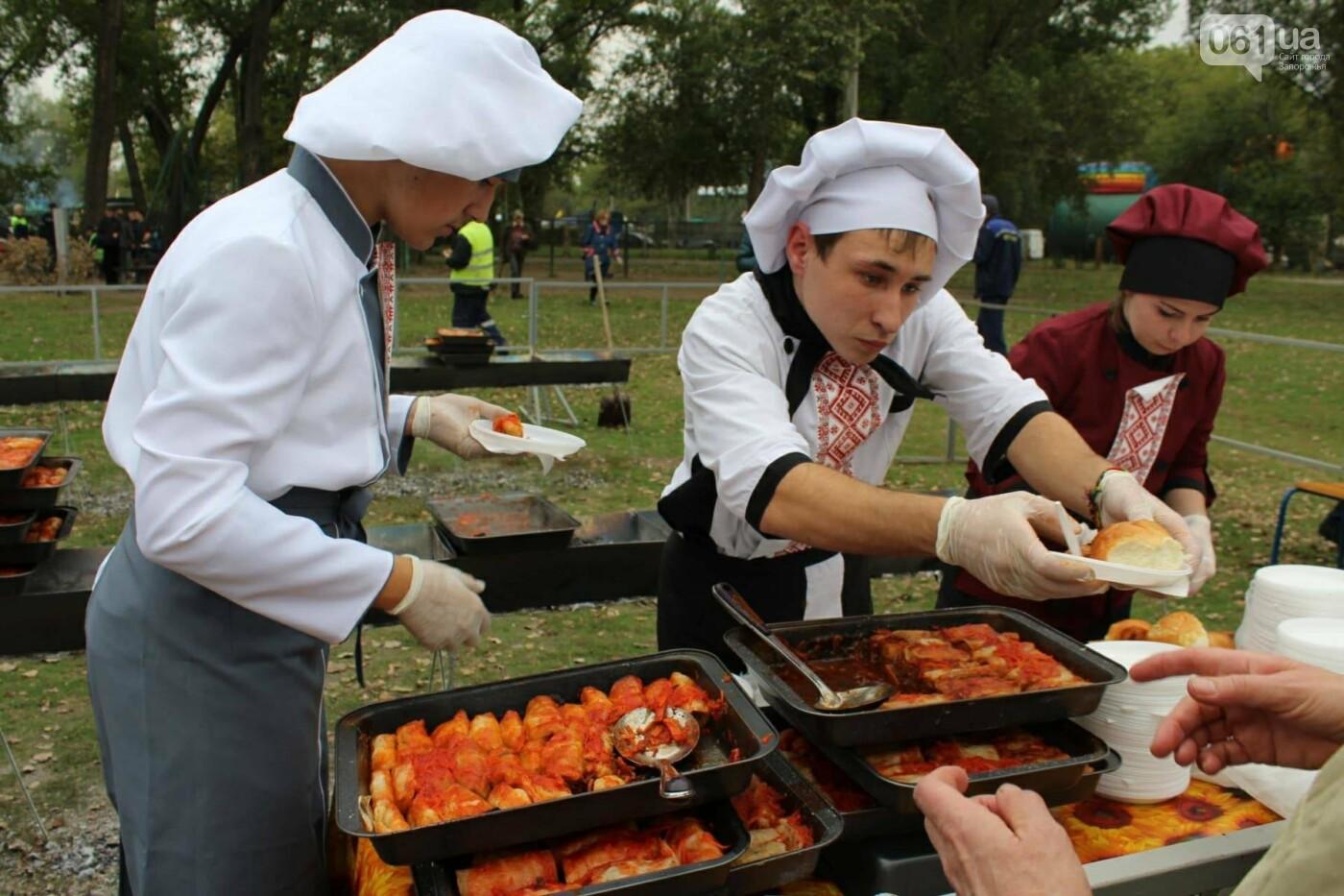 В Запорожье на ярмарке под баян начали раздавать голубцы: пока без драк, - ФОТОРЕПОРТАЖ, фото-9