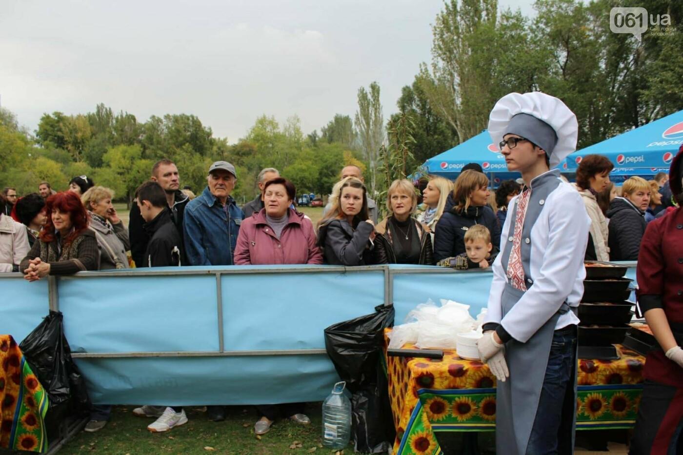 В Запорожье на ярмарке под баян начали раздавать голубцы: пока без драк, - ФОТОРЕПОРТАЖ, фото-20