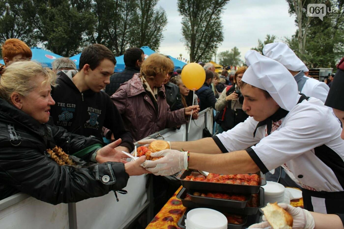 В Запорожье на ярмарке под баян начали раздавать голубцы: пока без драк, - ФОТОРЕПОРТАЖ, фото-15