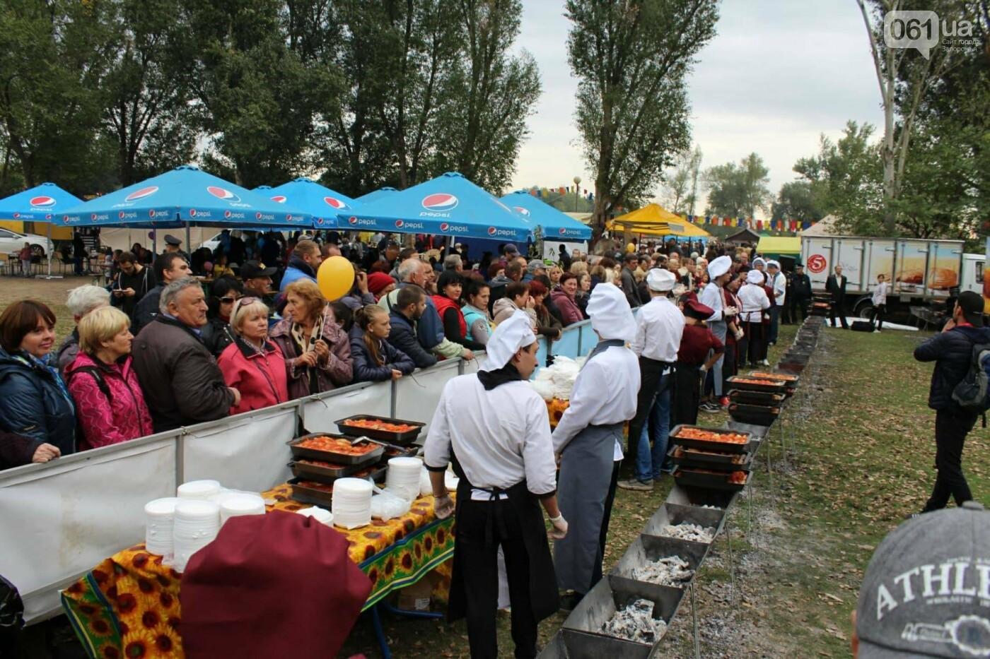 В Запорожье на ярмарке под баян начали раздавать голубцы: пока без драк, - ФОТОРЕПОРТАЖ, фото-21