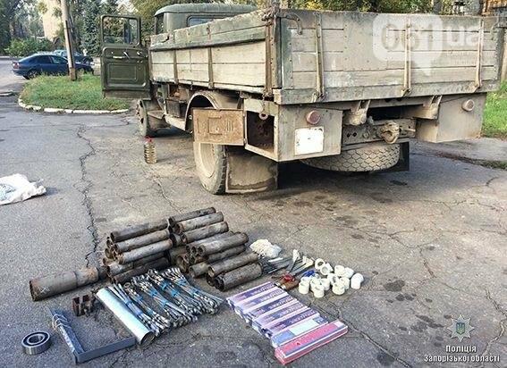 Работник запорожского предприятия пытался вывезти цветной метал в тайнике, - ФОТО, фото-1